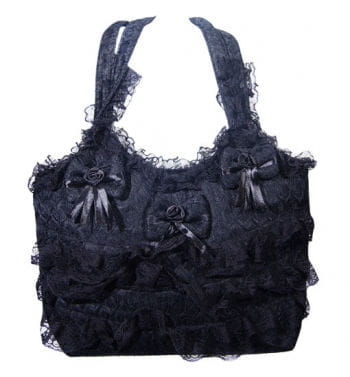 Poizen Industries Gothic Bag Black
