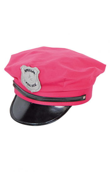 Police Hat pink