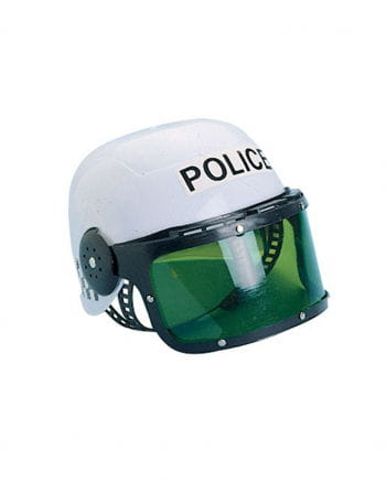 Polizeihelm mit Visier für Kinder