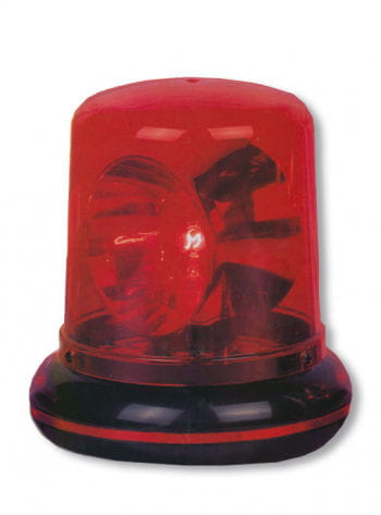 Police Light Red
