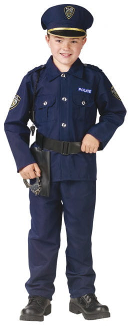 Police Uniform Child Costume