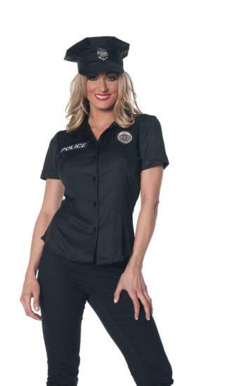 Polizistin Uniform Hemd Plus Size