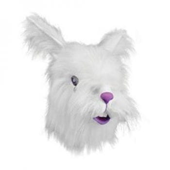 Kaninchenmaske mit Fell