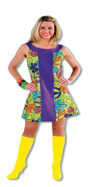 Premium Peace Kleid XL