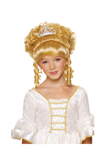 Princess Child Wig Blonde