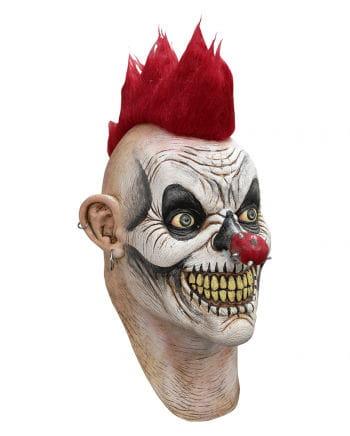 Punky Clown Halloween Maske