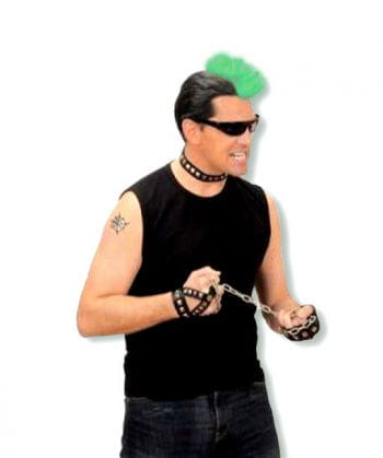 Punk Hairpiece Green