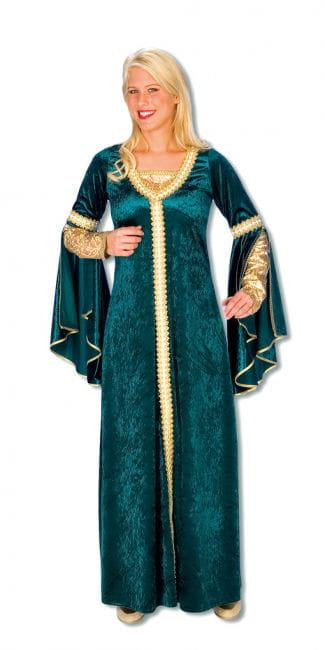Renaissance Velvet Dress Plus Size