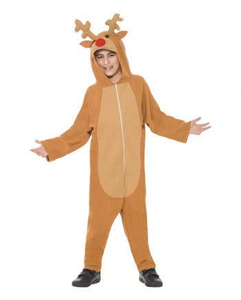 Overall reindeer costume
