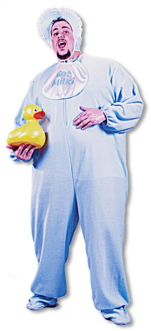 Riesenbaby Kostüm Blau XL