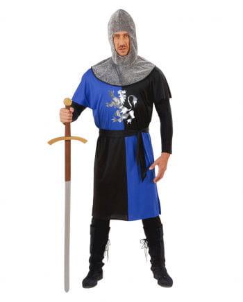 Ritterkostüm blau/schwarz Gr. S