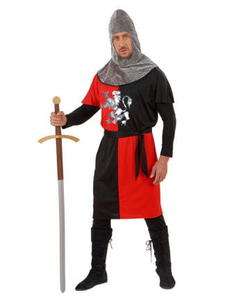 Knight costume red / black Gr. M