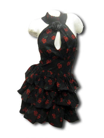 Rockabilly Tattoo Kleid Gr S