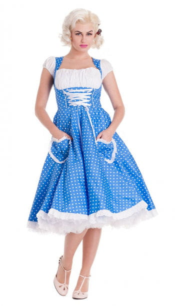 Petticoat Dirndl Dress Blue