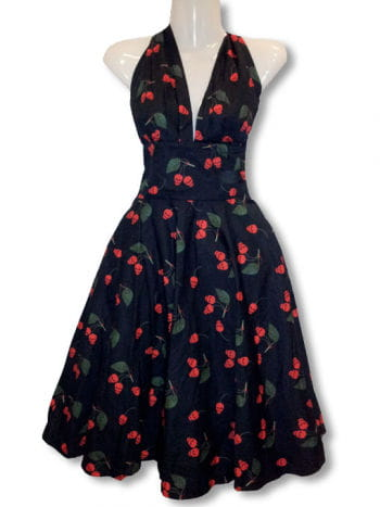 neckholder rockabilly kleid pinup kleid 50er jahre kleid karneval universe. Black Bedroom Furniture Sets. Home Design Ideas