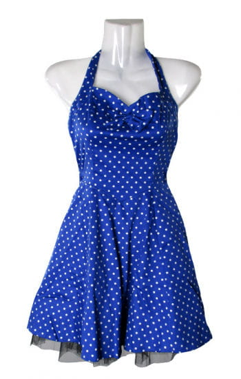 Polka Dot Petticoat blau