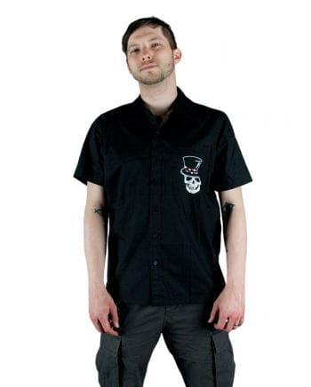 Männerhemd schwarz