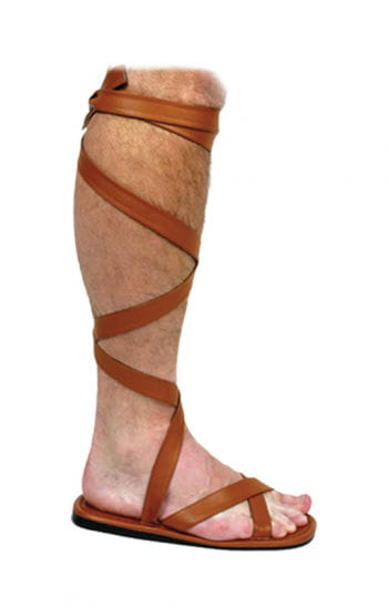 Roman sandals brown L
