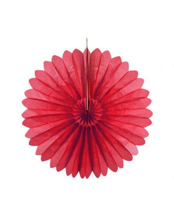Faltfächer rot 35 cm