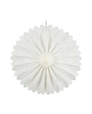 Faltfächer weiß 35 cm