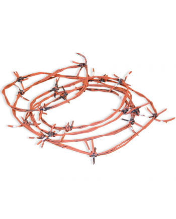 Rusty barbed wire 30m