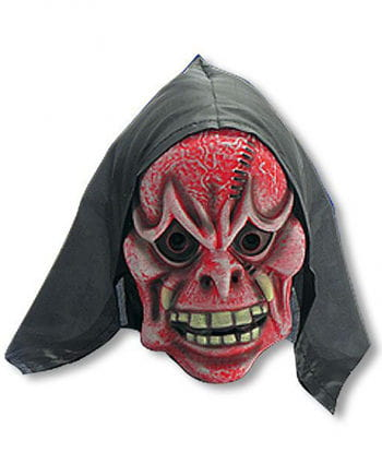 Red and White Demon Mask