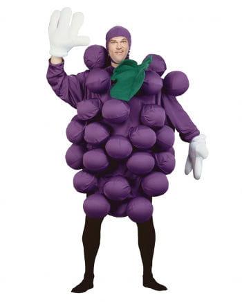 Lila Premium Weintrauben Kostüm