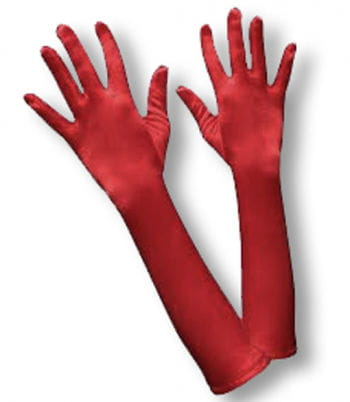 Damenhandschuhe rot