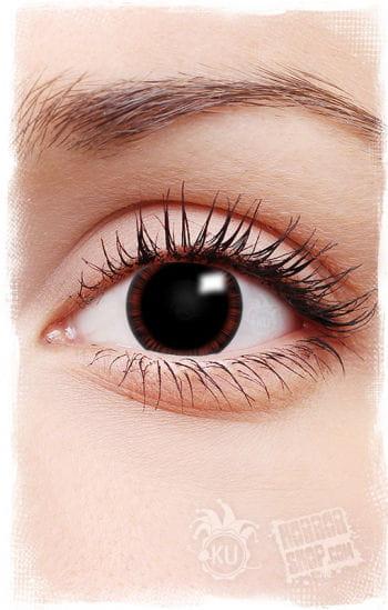 Manga Kontaktlinsen rot