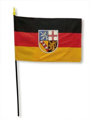 Stockflagge Bundesland Saarland