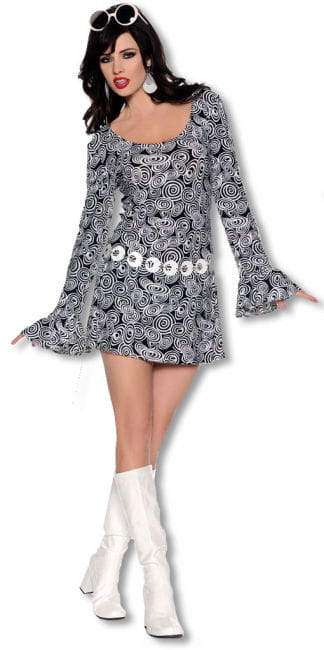 San Francisco Hippie Mini Kleid Medium