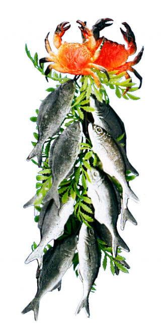 Sardines Hanging Decoration