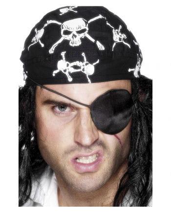 Satin Pirate Eye Patch