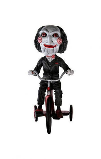Head Knockers SAW Billy Puppet on Tricycle