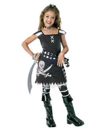 Scarlett Gothic Pirates Children Costume L
