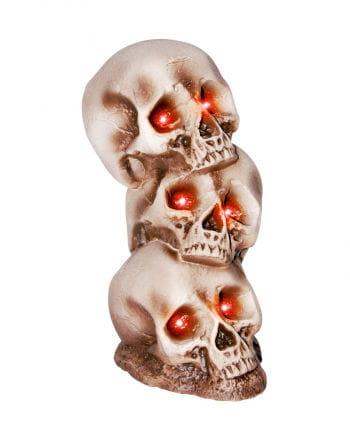 Totenkopfturm mit LED Augen
