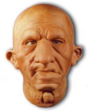Schlauer Urfin Schaumlatex Maske