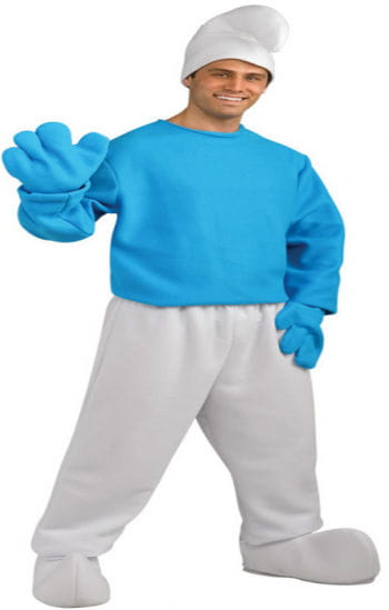 Smurf Costume Deluxe Plus Size