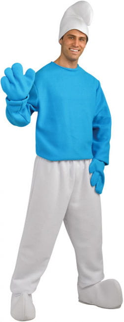 Schlumpf Kostüm One Size