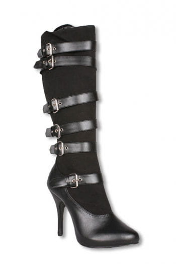 Buckle Boots black