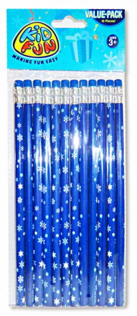 Schneeflocken Bleistifte 12 St.