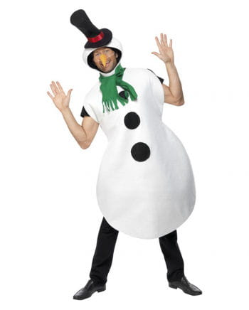 Snowman costume with scarf