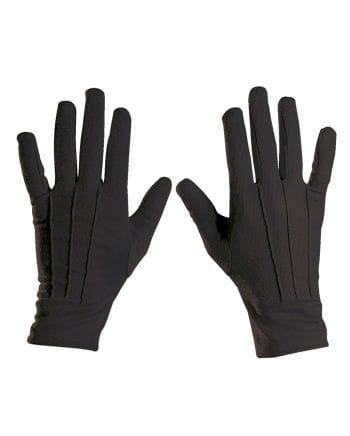 Unisex Handschuhe für Kostüme schwarz