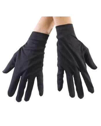 Black Fabric Gloves