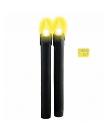 LED Candle Set Black