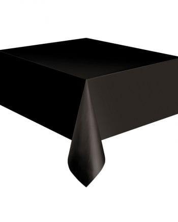 Kunststoff-Tischdecke schwarz