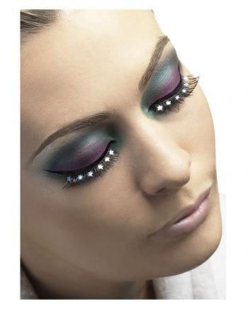 Eyelashes with asterisks