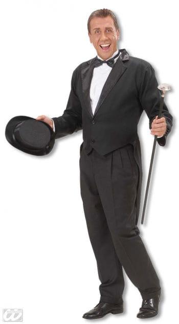 Anzug Frack schwarz