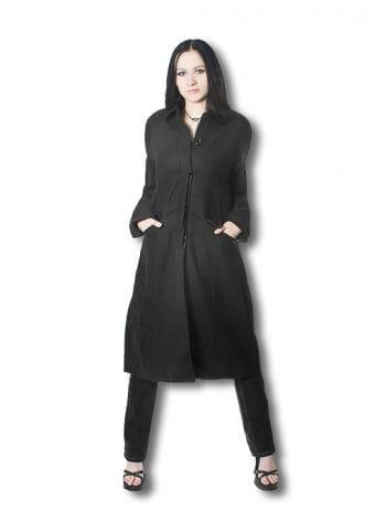 Gothic Damenmantel schwarz