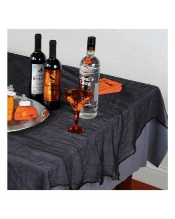 Black Halloween decoration fabric